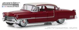 Cadillac  - Fleetwood 1955 red - 1:64 - GreenLight - 39010A - gl39010A | The Diecast Company