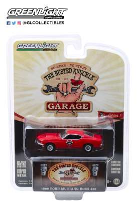 Ford Mustang - 1969 red - 1:64 - GreenLight - 39010D - gl39010D | The Diecast Company