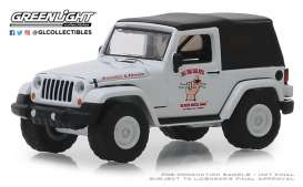 Jeep  - Wrangler 2012 white/grey - 1:64 - GreenLight - 39010E - gl39010E | The Diecast Company