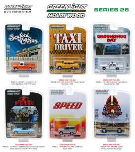 Assortment/ Mix  - various - 1:64 - GreenLight - 44860 - gl44860 | The Diecast Company