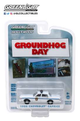 Chevrolet  - 1980 blue/white - 1:64 - GreenLight - 44860C - gl44860C | The Diecast Company