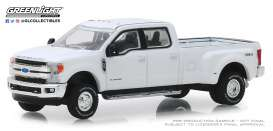 Ford  - F-350 2018 white - 1:64 - GreenLight - 46010C - gl46010C | The Diecast Company