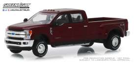 Ford  - F-350 2019 red - 1:64 - GreenLight - 46010D - gl46010D | The Diecast Company