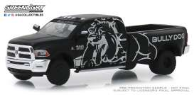 Ram  - 3500 2018 black/grey - 1:64 - GreenLight - 46010E - gl46010E | The Diecast Company