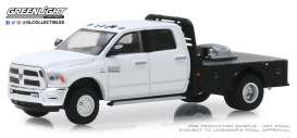 Ram  - 3500 2019 white - 1:64 - GreenLight - 46010F - gl46010F | The Diecast Company