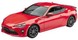 Toyota  - 86 2016 red - 1:32 - Aoshima - 157551 - abk157551 | The Diecast Company