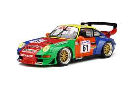 Porsche  - 1998 blue/red/green - 1:18 - GT Spirit - 754 - GT754 | The Diecast Company
