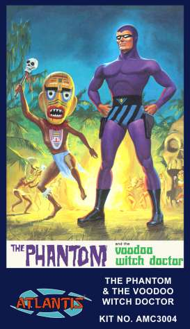 Figures  - the Phantom & Voodoo With Doct  - Atlantis - AMC3004 - AMC3004 | The Diecast Company