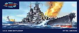 Boats  - USS Iowa Battleship  - 1:535 - Atlantis - AMCH369 - AMCH369 | The Diecast Company
