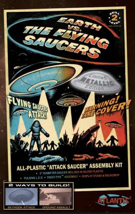 Planes  - the Flying Saucers  - Atlantis - AMC1005S - AMC1005S | The Diecast Company