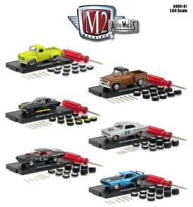 Assortment/ Mix  - various - 1:64 - M2 Machines - 34001-07 - M2-34001-07 | The Diecast Company