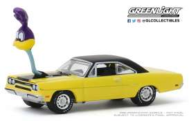 Plymouth  - Road Runner 1970 yellow/black - 1:64 - GreenLight - 30088 - gl30088 | The Diecast Company