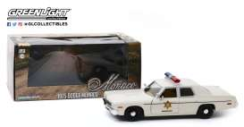 Dodge  - Monaco 1975 white - 1:24 - GreenLight - 84094 - gl84094 | The Diecast Company