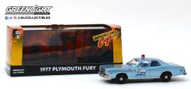 Plymouth  - Fury 1977 blue - 1:43 - GreenLight - 86565 - gl86565 | The Diecast Company