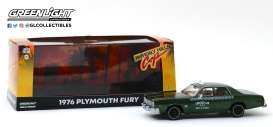 Plymouth  - Fury 1976 green - 1:43 - GreenLight - 86566 - gl86566 | The Diecast Company