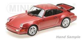Porsche  - 1990 red metallic - 1:18 - Minichamps - 155069102 - mc155069102 | The Diecast Company