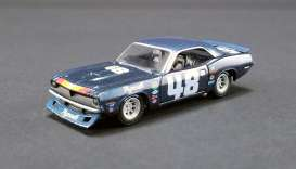 Plymouth  - Trans Am Barracuda #48 1970 blue - 1:64 - Acme Diecast - 51263 - acme51263 | The Diecast Company
