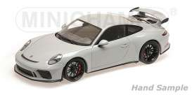 Porsche  - 911 GT3 2017 chalk - 1:18 - Minichamps - 110067036 - mc110067036 | The Diecast Company