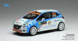 Peugeot  - 2018 white/blue - 1:43 - IXO Models - ram560 - ixram560 | The Diecast Company