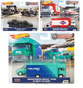 Assortment/ Mix  - various - 1:64 - Hotwheels - mvFLF56-965D - hwmvFLF56-965D | The Diecast Company