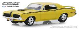 Mercury  - Cougar 1970 yellow - 1:64 - GreenLight - 37180A - gl37180A | The Diecast Company