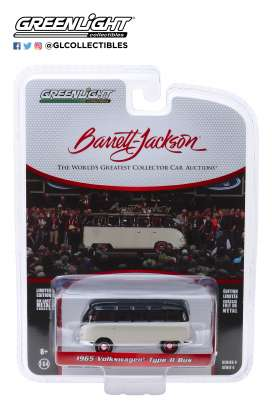 Volkswagen  - Type 2 1965 white/black - 1:64 - GreenLight - 37180B - gl37180B | The Diecast Company