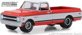 Chevrolet  - K-20 1969 red - 1:64 - GreenLight - 37180C - gl37180C | The Diecast Company
