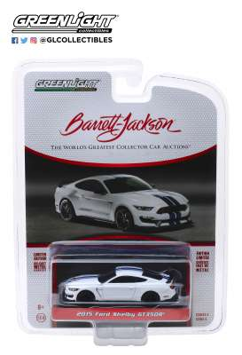 Ford  - Shelby GT350R 2015 white - 1:64 - GreenLight - 37180F - gl37180F | The Diecast Company