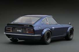 Nissan  - Fairlady Z blue - 1:12 - Ignition - IG0492 - IG0492 | The Diecast Company