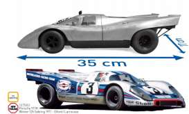 Porsche  - 917K 1971 blue/silver - 1:12 - Norev - 127503 - nor127503 | The Diecast Company