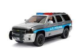 Chevrolet  - Tahoe 2010 chrome/black/blue - 1:24 - Jada Toys - 45003 - jada45003 | The Diecast Company