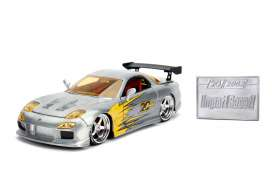 Mazda  - RX7 1993 chrome/yellow - 1:24 - Jada Toys - 45004 - jada45004 | The Diecast Company