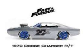 Dodge  - Charger 1970 chrome/blue - 1:24 - Jada Toys - 45017 - jada45017 | The Diecast Company