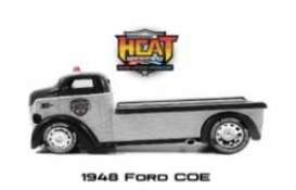 Ford  - COE 1948 chrome/black - 1:24 - Jada Toys - 45018 - jada45018 | The Diecast Company