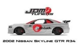 Nissan  - Skyline GTR R34 2002 chrome/red - 1:24 - Jada Toys - 45019 - jada45019 | The Diecast Company