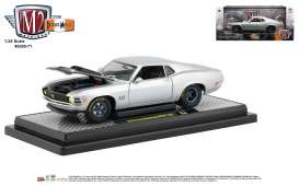 Ford  - Mustang Boss 1970 silver/black - 1:24 - M2 Machines - 40300-71B - M2-40300-71B | The Diecast Company