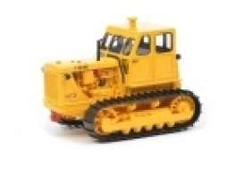 Tractor  - Chain tractor T100 M3 yellow - 1:32 - Schuco - 9057 - schuco9057 | The Diecast Company