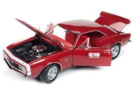 Chevrolet  - Camaro SS 1967 red - 1:18 - Auto World - 1163 - AMM1163 | The Diecast Company