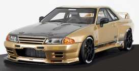 Nissan  - GT-R gold - 1:18 - Ignition - IG1523 - IG1523 | The Diecast Company