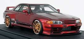 Nissan  - GT-R red - 1:18 - Ignition - IG1524 - IG1524 | The Diecast Company