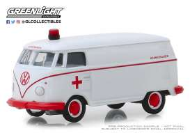 Volkswagen  - Panel 1964 white/red - 1:64 - GreenLight - 29960A - gl29960A | The Diecast Company