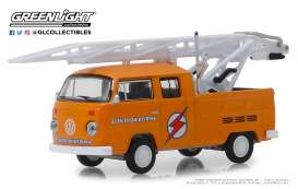 Volkswagen  - Type 3  1972 orange - 1:64 - GreenLight - 29960D - gl29960D | The Diecast Company