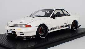 Nissan  - GT-R white - 1:18 - Ignition - IG1520 - IG1520 | The Diecast Company