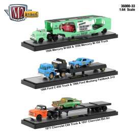 Assortment/ Mix  - Various - 1:64 - M2 Machines - 36000-33 - m2-36000-33 | The Diecast Company