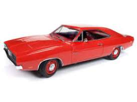 Dodge  - Charger 1969 red - 1:18 - Auto World - AMM1174 - AMM1174 | The Diecast Company