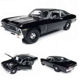 Chevrolet  - Yenko Nova 1969 black - 1:18 - Auto World - AMM1178 - AMM1178 | The Diecast Company