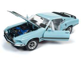 Ford  - Mustang Mach 1 1969 violet - 1:18 - Auto World - AMM1181 - AMM1181 | The Diecast Company
