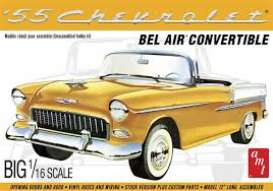 Chevrolet  - Bel Air Convertible 1955  - 1:16 - AMT - s1134 - amts1134 | The Diecast Company