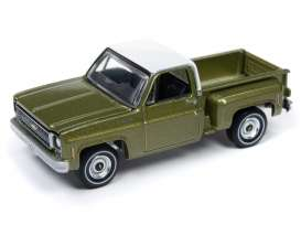 Chevrolet  - Cheyenne green/white - 1:64 - Auto World - SP024B - AWSP024B | The Diecast Company