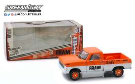 Ford  - F-100 1967 orange/white - 1:24 - GreenLight - 85042 - gl85042 | The Diecast Company